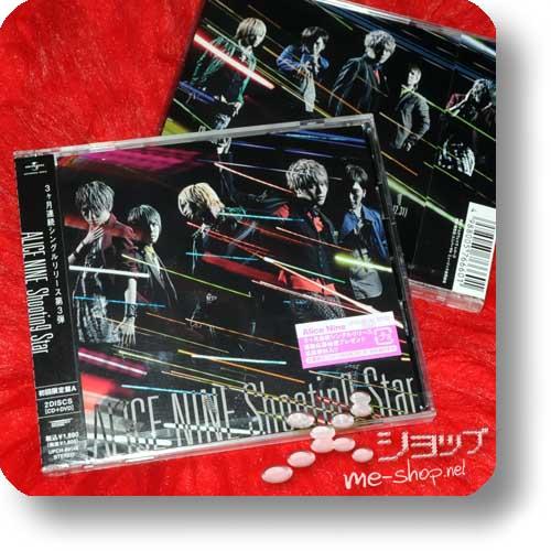 ALICE NINE - Shooting Star LIM.CD+DVD A-Type (Re!cycle)-0