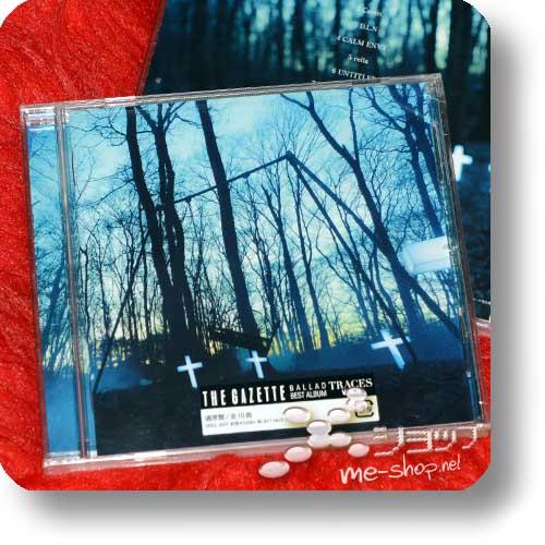 THE GAZETTE - TRACES VOL.2 BALLAD BEST ALBUM-0