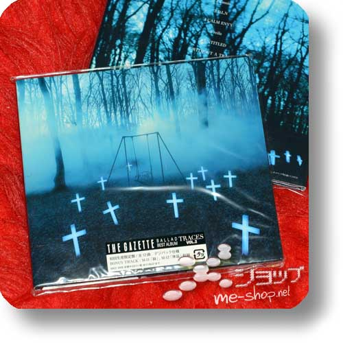 THE GAZETTE - TRACES VOL.2 BALLAD BEST ALBUM (lim.Special Edition Digipak inkl.2 Bonustracks!)-0