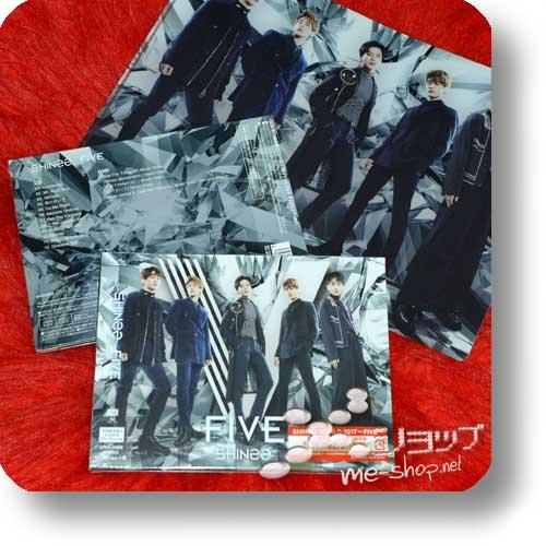 SHINee - FIVE (lim.CD+Blu-ray+Photobook A-Type) +Bonus-Clearfile!-0