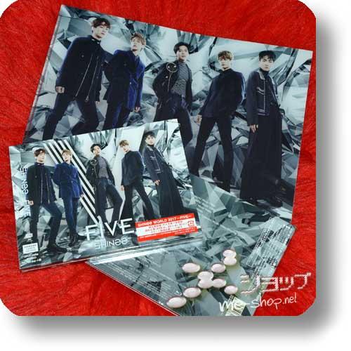 SHINee - FIVE (lim.CD+DVD+Photobook B-Type) +Bonus-Clearfile!-0