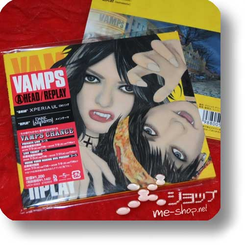 VAMPS - AHEAD / REPLAY lim.1.Press (Re!cycle)-0