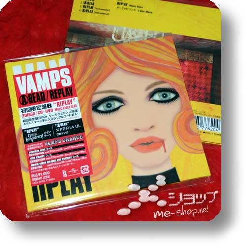 VAMPS - AHEAD / REPLAY lim.CD+DVD B-Type (Re!cycle)-0
