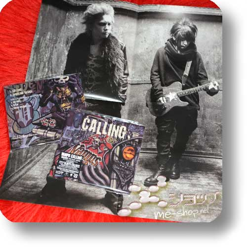 VAMPS - CALLING lim.CD+DVD +Bonus-Promoposter!-0