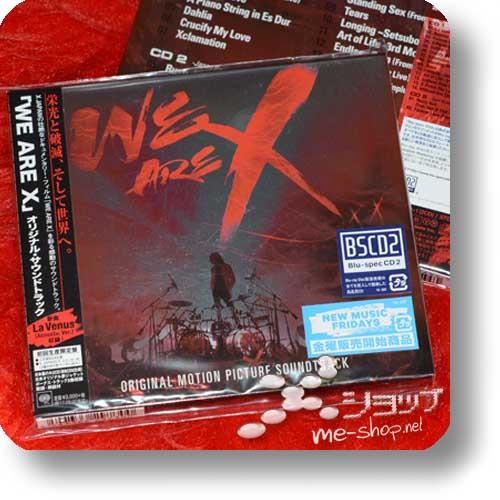 X JAPAN - WE ARE X Original Motion Picture Soundtrack (lim.2CD)-0