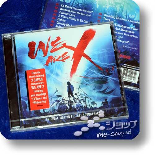 X JAPAN - WE ARE X Original Motion Picture Soundtrack (EU-Pressung)-0