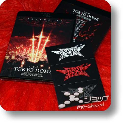 BABYMETAL - LIVE AT TOKYO DOME (2Blu-ray) +Bonus-Stickerbogen!-0