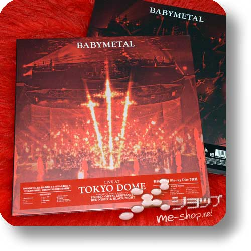 BABYMETAL - LIVE AT TOKYO DOME (lim.LP sized Collector's Edition / 2Blu-ray)-0