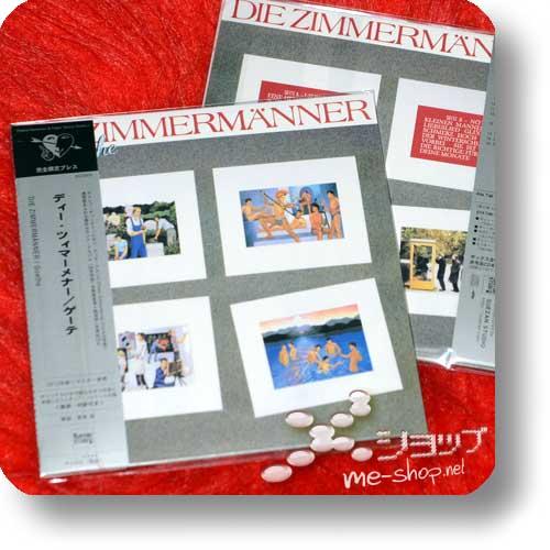 DIE ZIMMERMÄNNER - Goethe (Reissue 2012 / lim.Papersleeve!)-0