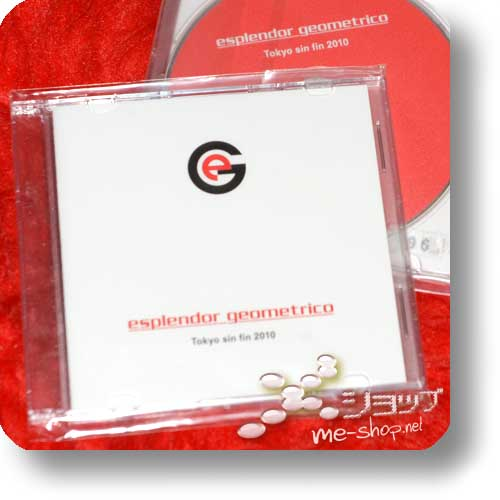 ESPLENDOR GEOMETRICO - Tokyo Sin Fin 2010 (live only-CD / lim.250!) (Esplendor Geométrico)-0