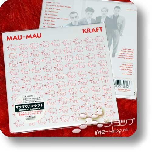 MAU MAU - KRAFT (2013 Papersleeve-Reissue inkl.11 Bonustracks / lim.300!)-0
