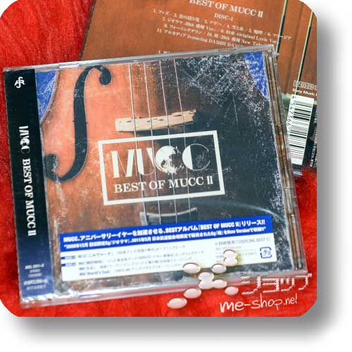 MUCC - BEST OF MUCC II (2CD)-0