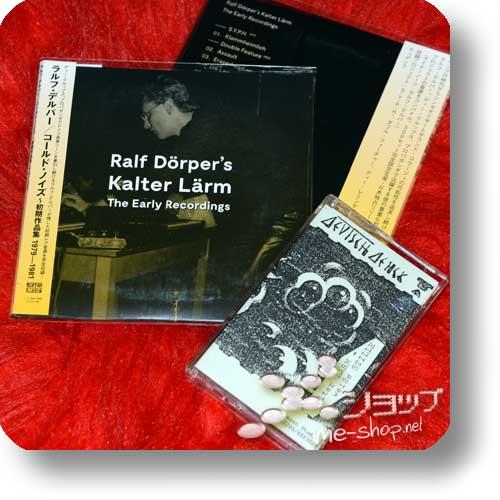 RALF DÖRPER - Ralf Dörper's Kalter Lärm - The Early Recordings (CD / lim.300!) +Bonus-Cassette!-0