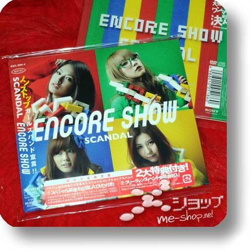 SCANDAL - Encore Show (lim.CD+DVD) (Re!cycle)-20064