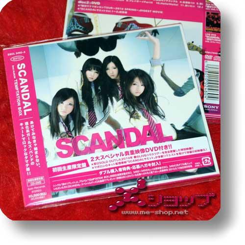 SCANDAL - TEMPTATION BOX (lim.CD+DVD) (Re!cycle)-0