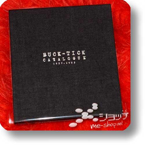 BUCK-TICK - CATALOGUE 1987-1995 (lim.1.Press Stoff-Digipak+10 Fotosticker / ORIG.1995!) (Re!cycle)-0