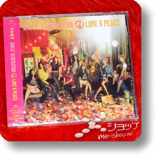 GIRLS' GENERATION - LOVE & PEACE (Fanclub Edition inkl.Bonustrack!)-0
