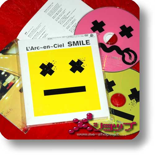 L'ARC~EN~CIEL - SMILE (lim.Digipak CD+DVD+Bonus-Tradingcard!) (Re!cycle)-0