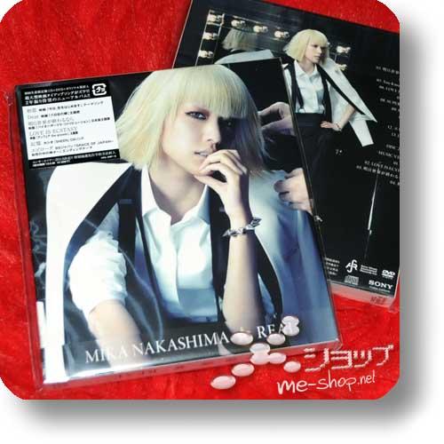 MIKA NAKASHIMA - REAL (lim.CD+DVD) (Re!cycle)-0