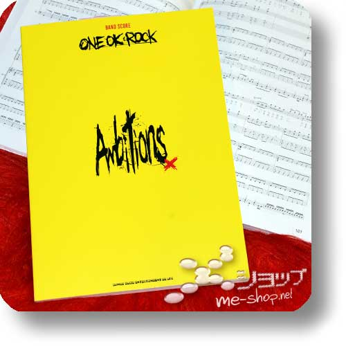 ONE OK ROCK - Ambitions BAND SCORE (Notenbuch)-0
