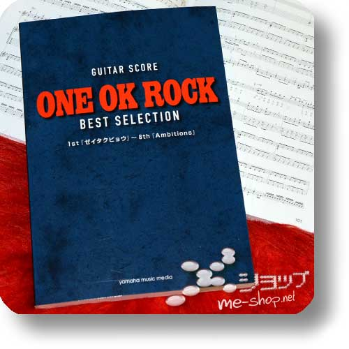 ONE OK ROCK - GUITAR SCORE BEST SELECTION (35 Songs / Zeitakubyo ~ Ambitions) (Notenbuch)-0