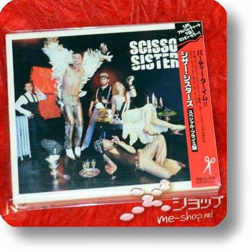 SCISSOR SISTERS - Scissor Sisters (Japan-Pressung / lim.1.Press inkl.Slipcase & Bonustracks!) (Re!cycle)-0