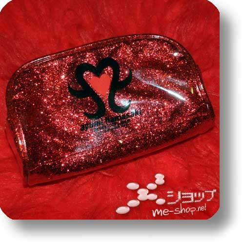 "AYUMI HAMASAKI - ARENA TOUR 2006 A ""(miss)understood"" Pouch Bag (orig.Tourmerchandise!) (Re!cycle)-21011"