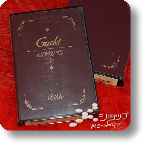 GACKT - Platinum Box I (Live-CD+VHS) (Re!cycle)-20955