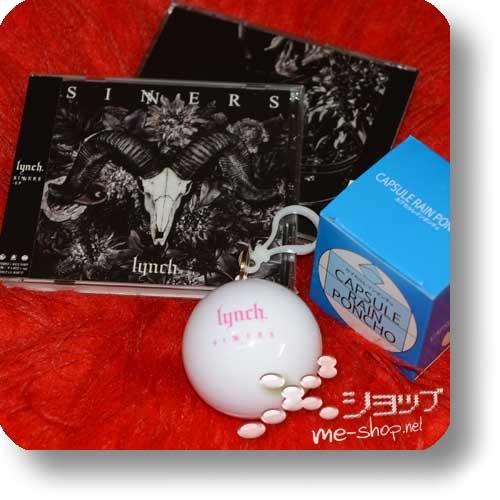 lynch. - SINNERS EP (LUNA SEA, MUCC) +Bonus-Capsule-Regencape!-0