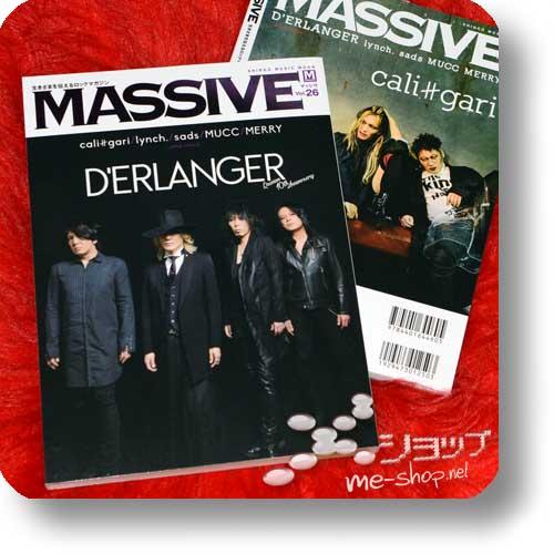 MASSIVE Vol.26 (Juni 2017) D'ERLANGER/cali≠gari, lynch., sads, MUCC, MERRY...-0