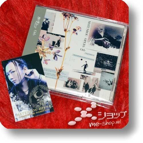 MATENROU OPERA - Orb (CD+DVD lim.1.Press inkl.Fotosticker!) (Re!cycle)-0