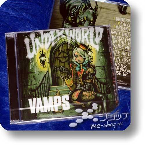 VAMPS - UNDERWORLD (EU-Pressung) +GEROLLTES PROMOPOSTER +POSTKARTE!-20906