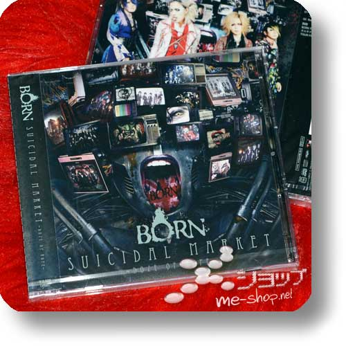 BORN - SUICIDAL MARKET -Doze of Hope- lim.CD+DVD A-Type-0