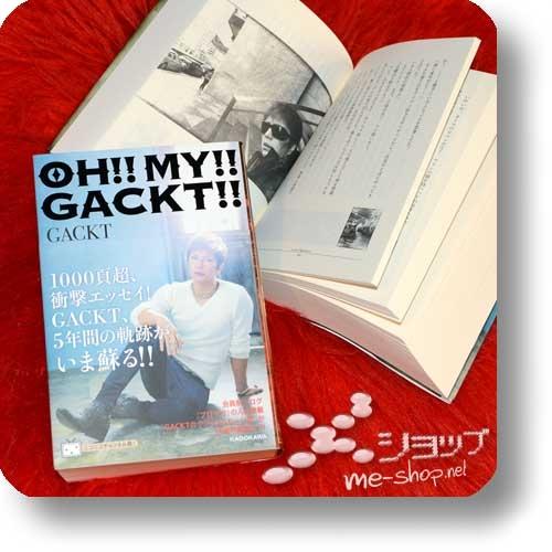 GACKT - OH!! MY!! GACKT!! / GACKT CHRONICLE 2012-2016 (Buch)-21256