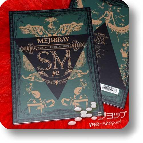 MEJIBRAY - SINGLE COLLECTION SM #2 (lim.CD+DVD+Book) (Re!cycle)-0