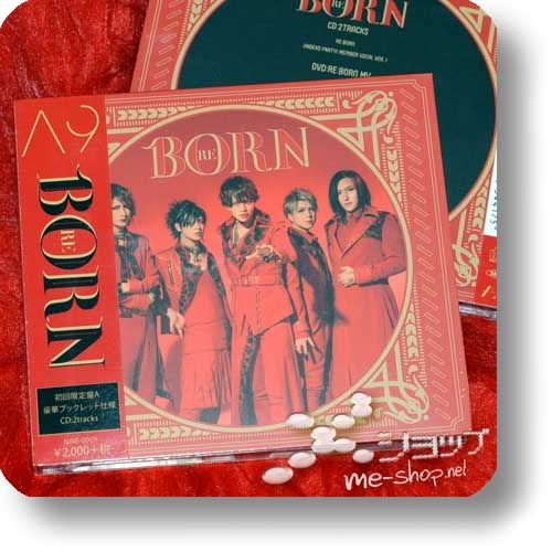 A9 - RE:BORN (lim.Digipak CD+DVD A) (Reborn / Λ9 / Alice Nine)-0