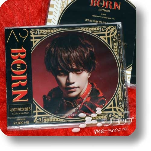 A9 - RE:BORN (lim.CD+DVD B) (Reborn / Λ9 / Alice Nine)-0