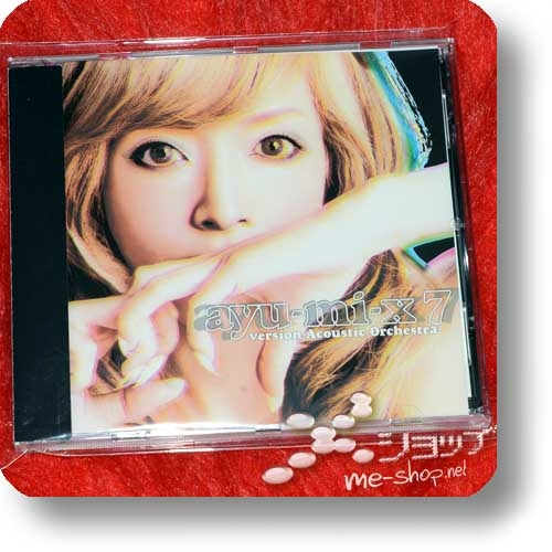 AYUMI HAMASAKI - ayu-mi-x 7 version Acoustic Orchestra (Re!cycle)-0