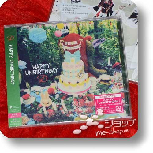 D - Happy Unbirthday (C-Type) (Re!cycle)-0
