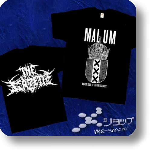 "THE GAZETTE - EU-Tour Original T-Shirt ""MALUM"" Größe S (Re!cycle)-0"