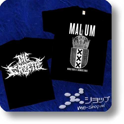 "THE GAZETTE - EU-Tour Original T-Shirt ""MALUM"" Größe S (Re!cycle)-0"