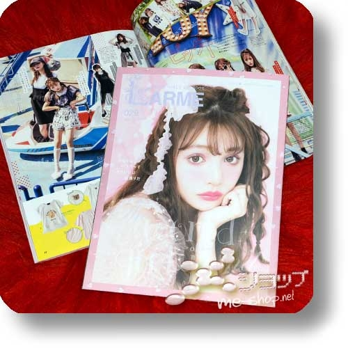 "LARME 029 (September 2017) Fashion & Lifestyle-Magazin (inkl. ""My Melody""-Stickerbogen!)-0"