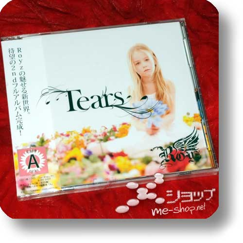 ROYZ - Tears LIM.CD+DVD A-Type (Re!cycle)-0