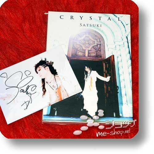 SATSUKI - CRYSTAL (lim.Digibook-CD+handsignierte Fotokarte! / Rentrer en soi) (Re!cycle)-0
