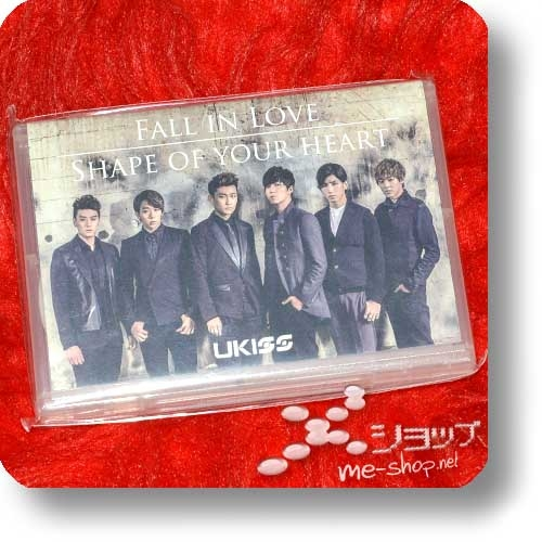 U-KISS (UKISS) - Fall In Love / Shape Your Heart (lim.Playbutton / Mailorder/Event only) (Re!cycle)-0