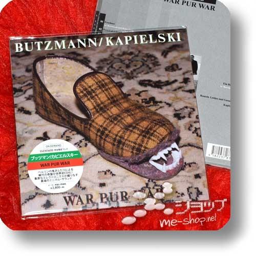 BUTZMANN / KAPIELSKI - WAR PUR WAR (CD Reissue 2017 / Papersleeve / lim.300!)-0