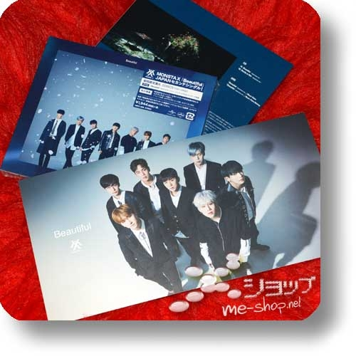 MONSTA X - Beautiful (lim.CD+DVD A-Type) +Bonus-Fotopostkarte!-0