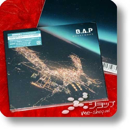 B.A.P - HONEYMOON (Japan 8th Single / lim.Digipak CD+Photobooklet B-Type) +Bonus-Fotokarte!-21933