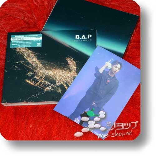 B.A.P - HONEYMOON (Japan 8th Single / lim.Digipak CD+Photobooklet B-Type) +Bonus-Fotokarte!-0