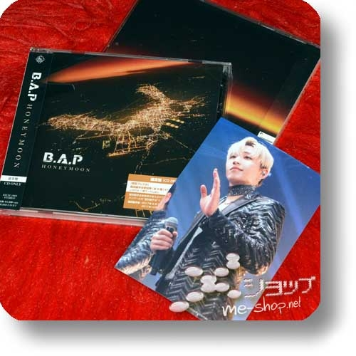 B.A.P - HONEYMOON (Japan 8th Single) +Bonus-Fotokarte!-0